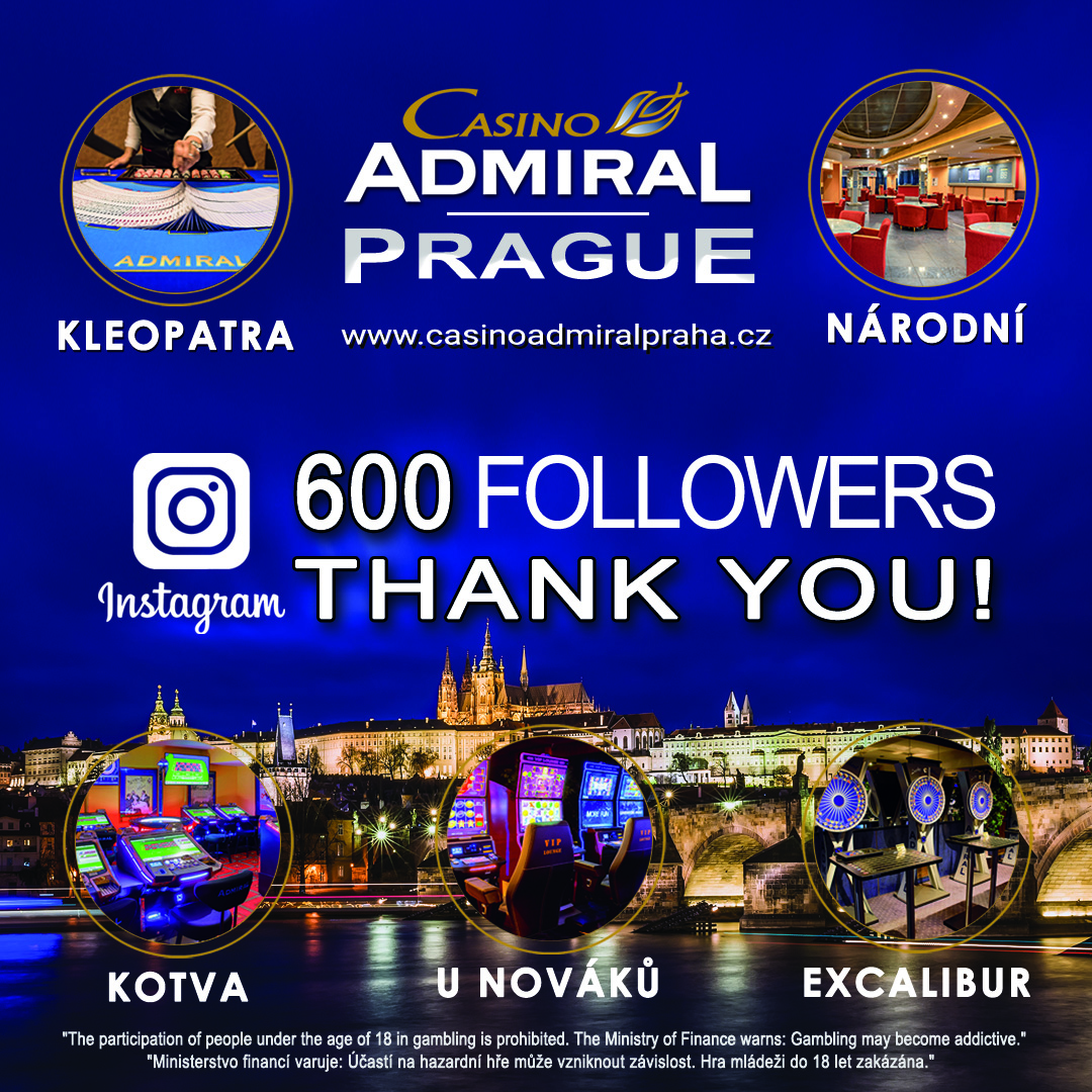 Admiral PRAgue 500followers