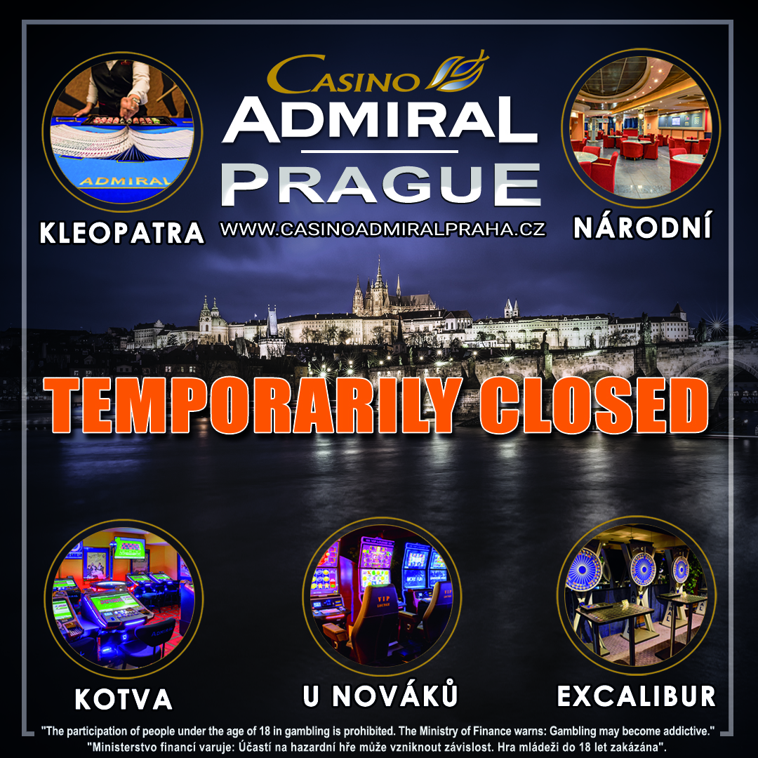 Admiral PRAgue CLOSED