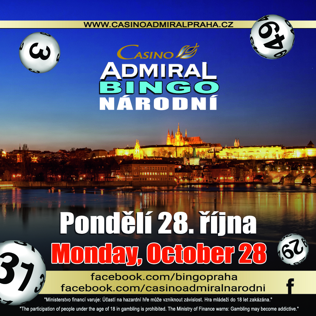 Admiral Bingo 28oct Web