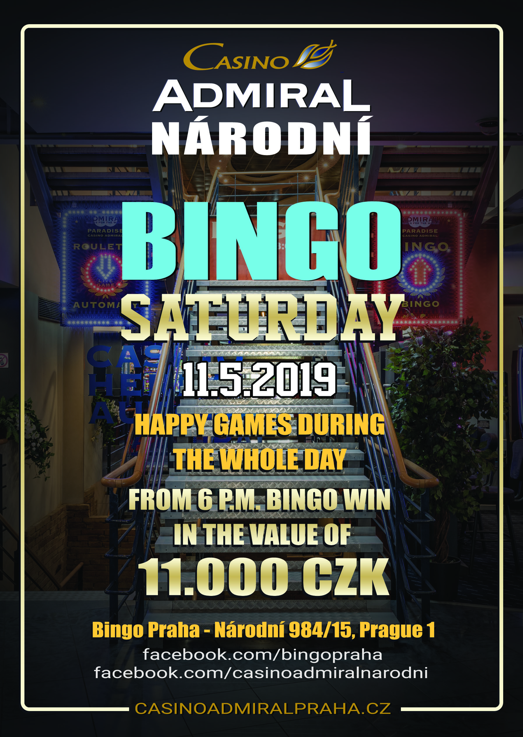 Saturday Bingo Prague
