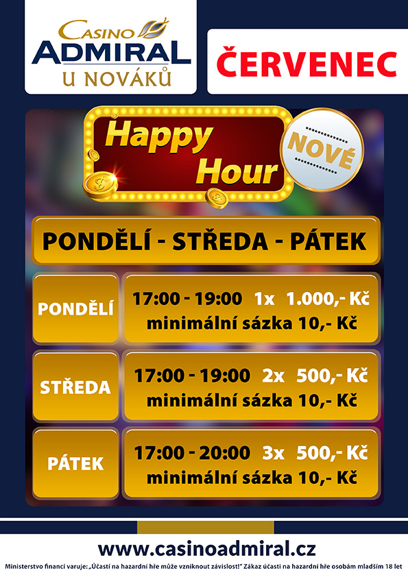 UNovaku Happy Hour Cervenec2020
